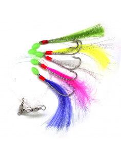 Makrelforfang Multifarvet fluer