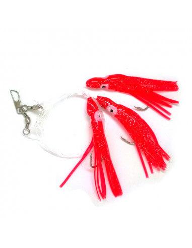 Torskeforfang Korte Røde Blæksprutter