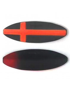 Præsten Mini Custom Painted - Korset Sort / Orange fra Viking-Lures