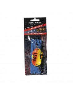 Fladfiskeforfang m. Ske Orange Tiger fra Kinetic