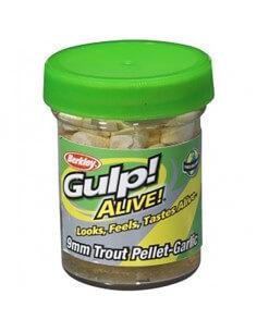 Gulp Alive! Trout Pellets White fra Berkley