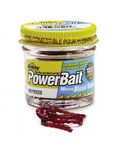 Powerbait Bloodworms fra Berkley