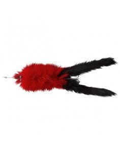 Hairy Killer Red Black Tail fra ABU