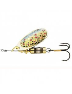 Effzet Spinner Nature 3D Brown Trout fra DAM