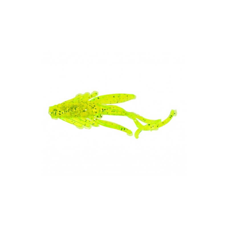 Powerbait Sparkle Nymph - Chartreuse Scales fra Berkley