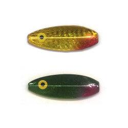 Lille gennemløber Gul Grøn Refleks fra Billigt Fiskegrej