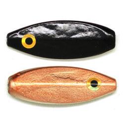 Lille gennemløber Sort Kobber fra Billigt Fiskegrej