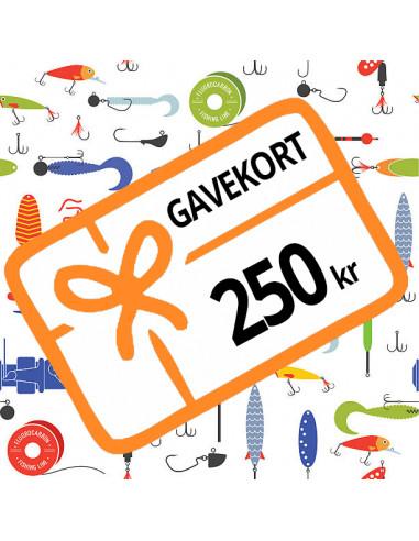 250 kr - Gavekort