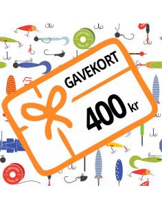 400 kr - Gavekort