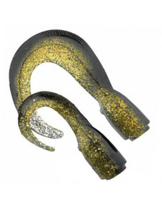 3D Hard Eel Tails Olive Gold fra Savage Gear