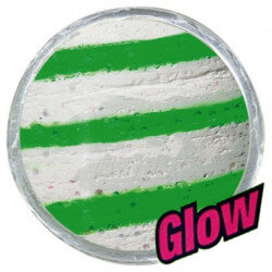 Powerbait Green / White Glow fra Berkley
