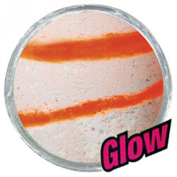 Powerbait Orange / White Glow fra Berkley