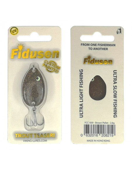 Fidusen Brown Pellet fra Viking-Lures - 2