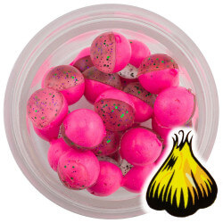 Powerbait Clear Purple Pink Garlic Power Eggs fra Berkley