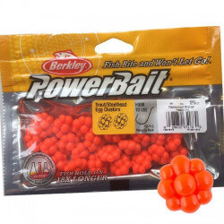 Powerbait Egg Clusters Orange fra Berkley
