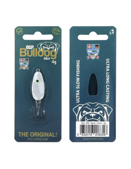 Bulldog Mini Black Glow fra OGP - 2