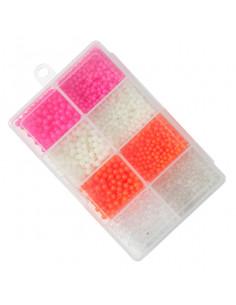 Flydende Farvede Perle Sortiment fra Kinetic