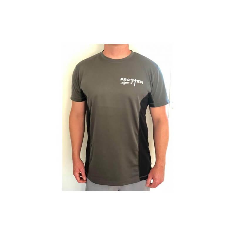 Præsten T-Shirt Grå fra Viking Lures