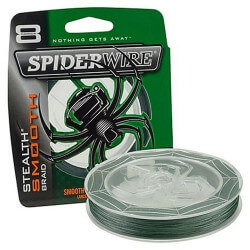 Spiderwire Smooth8 - Moss Green fra Berkley