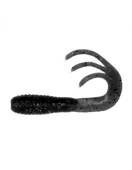 Flexibait Triple Tail - Black fra Skull Gear - 2