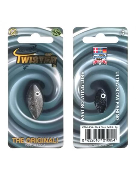 Twister Black Glow Pellet fra OGP - 2