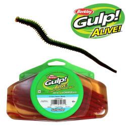 Gulp Alive! Børsteorm Dark Brown fra Berkley